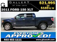 2011 FORD F150 ECOBOOST *EVERYONE APPROVED* $0 DOWN $169/BW!