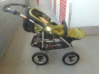 Freestyle 4XL Travel System by Quinny (Green colour) 150$