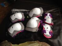 Knee, Hand, and Elbow protectors XS (age 6-10)