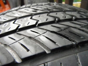 4 Yokohama Geolandar All Season Tires 225/65/17 - 2 seasons left