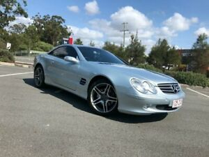2003 Mercedes-Benz SL350 Silver 5 Speed Automatic Roadster Arundel Gold Coast City Preview