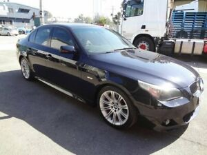 2005 BMW 525i E60 MY06 Upgrade Sport Blue 6 Speed Auto Steptronic Sedan Coopers Plains Brisbane South West Preview