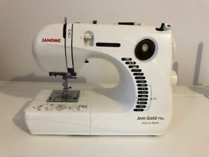 Janome Sewing Machine and Serger