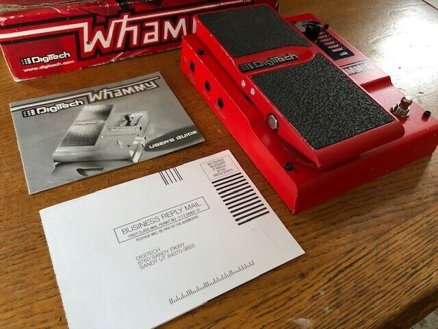 Digitech Whammy pitch shifter guitar pedal Rage Against The Machine Tom Morello