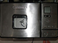 Stainless Steel Cuisinart Convection bread maker.