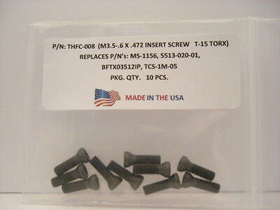 10 Pieces THFC-008 Insert Screw: MS-1156 .. 5513-020-01 .. PT-781T ..191.698