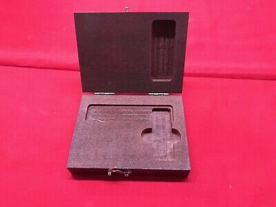 Starrett 951 Wood Case For 20 Master Precision Square 3  In Stock