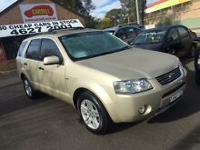 2005 Ford Territory SX Ghia (4x4) Gold 4 Speed Auto Seq Sportshift Wagon Campbelltown Campbelltown Area Preview
