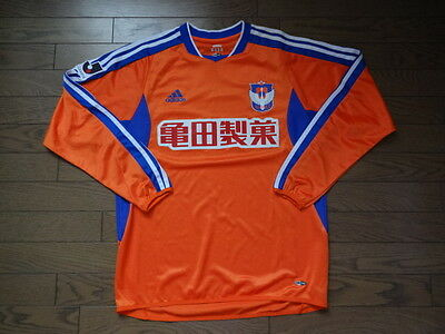 Albirex Niigata 100% Official Soccer Jersey 2003 J League O Japan Good Condition image