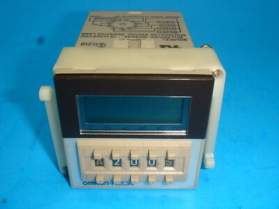 New Omron Solid State Timer H3ca-a 99.9s-9990h 24-240vac 12-240vac New