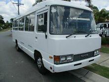 1992 Toyota Coaster HZB30R Standard (LWB) White Bus 4.2l 4x2 Springwood Logan Area Preview