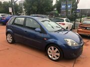 2007 Ford Fiesta WQ Zetec Blue 4 Speed Automatic Hatchback Richmond Hawkesbury Area Preview