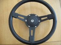 Classic Mini Mountney Steering Wheel and Boss