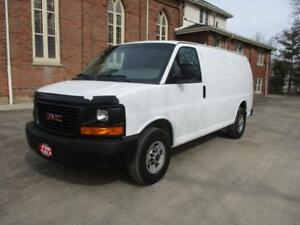 2013 GMC Savana Cargo Van + SHELVES+ CERTIFIED ! $17,599