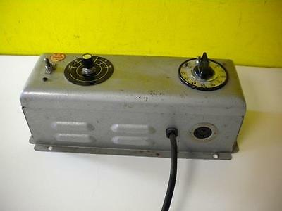 Nuarc Cp25 Lamp Power Supply 115 Volts Amps 1.0 115v 60 Ac Used 30 Day Guarantee