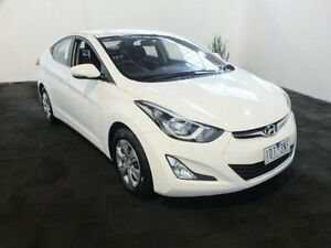 2014 Hyundai Elantra MD Series 2 (MD3) Active White 6 Speed Automatic Sedan Clemton Park Canterbury Area Preview