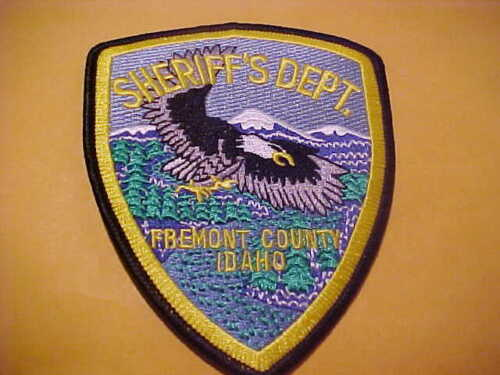 FREMONT COUNTY IDAHO POLICE PATCH SHOULDER SIZE UNUSED