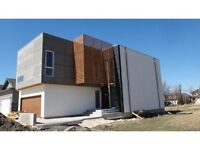 stunning modern design in Royalwood- incredible features