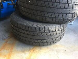 2 tires only of 205/55R16 Tiger-Paw all season for sale
