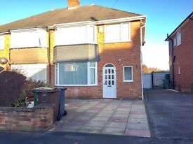 LARGE FAMILY HOME* 3 DOUBLE bedrooms* Olton train Station*Excellent School catchment* Garage*