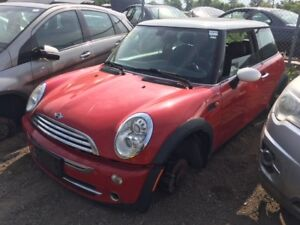 2006 Mini Cooper just in for parts at Pic N Save!