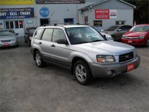 2004 Subaru Forester XS|NO RUST|NO ACCIDENTS|MUST SEE|AWD