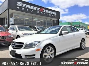 2014 Mercedes-Benz C350|BLUETOOTH|CAMERA|ACCIDENT FREE|PANO ROOF
