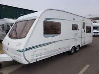 2004 ABBEY SPECTRUM 620 5 BERTH CARAVAN
