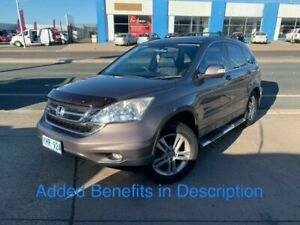 2011 Honda CR-V RE MY2011 Luxury 4WD Bronze 5 Speed Automatic Wagon Fyshwick South Canberra Preview