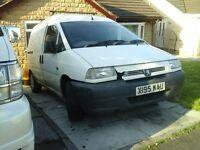 Peugeot expert van, spears or repairs