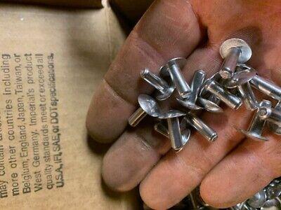 100 Solid Aluminum Rivets 316 X 12 Repair Boats Aircraft Armor Ratrods