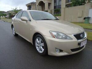2007 Lexus IS250 GSE20R Prestige Crystal Gold 6 Speed Auto Sequential Sedan Sunnybank Hills Brisbane South West Preview