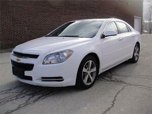 2012 CHEVY MALIBU 1LT-VERY LOW KM MUST SEE FULLY LOADED