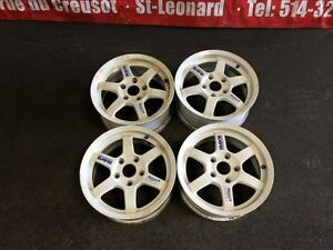 JDM TE37 15'' MAGS ONLY FOR SALE 15X6.5 5X114.3 OFFSET +45