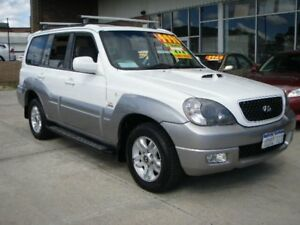 2006 Hyundai Terracan CRDi White & Grey 4 Speed Automatic Wagon Wangara Wanneroo Area Preview