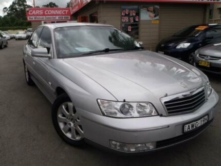 2003 Holden Statesman WK V6 Silver 4 Speed Automatic Sedan Edgeworth Lake Macquarie Area Preview