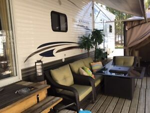 Four Winds by Dutchman Camper on Leased Lot Candle Lake