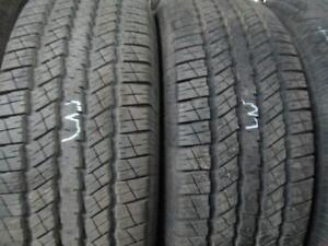 265/70R174 3 0NLY MATCHING USED GOODYEAR A/S TIRES