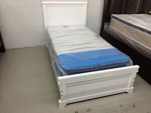 Brand new--Solid wood single bed frame $189.99 up--Free delivery
