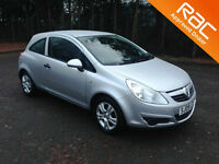 2009.09.VAUXHALL CORSA 1.0 ACTIVE.THREE DOOR.SILVER.
