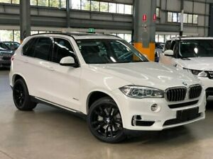 2013 BMW X5 F15 xDrive50i Wagon 5dr Spts Auto 8sp 4x4 4.4TT [Sep] White Sports Automatic Wagon Port Melbourne Port Phillip Preview