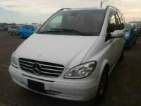 2009 MERCEDES V Class 3.5 V6 AUTO SUNROOF Full Leather DVD Camera FRESH IMPORT