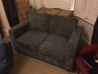Great Grey 2 Seat Sofa! Must go today!
