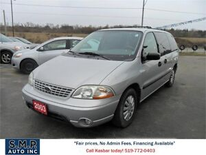 2003 Ford Windstar LX Value.AS IS