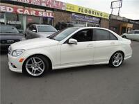 2010 MERCEDES BENZ C-350  4MATIC  AMG PKG