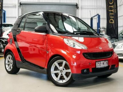 2009 Smart ForTwo 451 MY09 pulse Softip mhd Red 5 Speed Seq Manual Auto-Clutch Coupe Albion Brisbane North East Preview