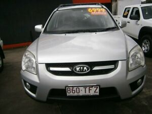 2009 Kia Sportage KM2 MY09 LX Silver 5 Speed Manual Wagon