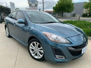 2011 Mazda 3 BL10L1 MY10 SP25 Activematic Blue 5 Speed Sports Automatic Sedan Fyshwick South Canberra Preview