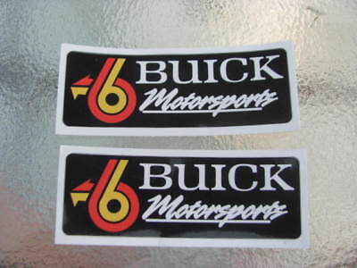 1987 87 Buick Grand National Decal Sticker Gn Turbo 6 Motorsports 86 Regal 1986