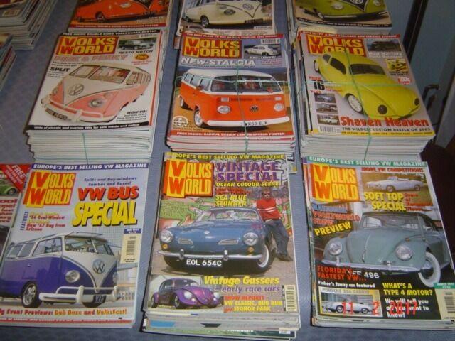 VW MAGAZINESin Weston super Mare, SomersetGumtree - VW MAGAZINES FOR SALE. VOLKS WORLD 2001,2002, 04, 05,06, 07, 08. TOTAL VW 2001, 02. ULTRA VW 2003, 04, 05, 06, 07, 08. VW MOTORING 1995, 96, 97, 98, 04, 05. VW TRENDS 1993, 02,03,04,05. VW HOT WHEELS 2003, 04. DUB SCENE 2003. OVER 200 MAGAZINES IN...